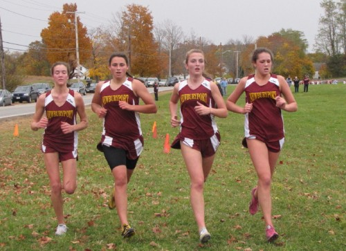 Newburyport cross country girls finish 10-27-09