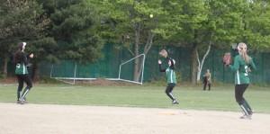 Shortstop Rachel Gallagher