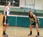 McKenna Kilian (14 points) and Morgan Maiola