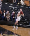 Emma Gallagher (7 points) gets a good look