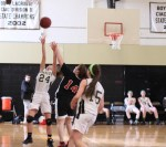 Ally Stillman (24) gets fouled