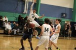 Jack Anderson goes for the block