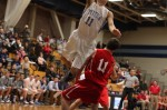 Connor Barry soars over Tighe VanLenten