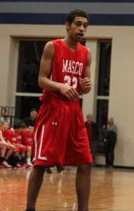 Jalen Aho put Masco ahead late in the game