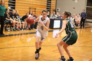 Kaitlyn Muldowney (eight points) led Triton in scoring