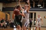 Carolyn Heslop defended by Megan Muldowney
