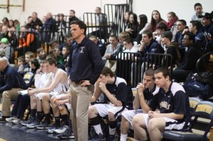 It was a long second half for Lynnfield coach Scott MacKenzie