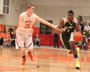 Nick Cross guards Jalen Brown