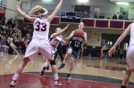 Kelsi McNamara gets into the lane