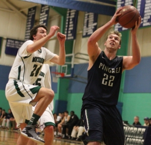 Kyle Lentini (17 points) gets two