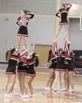 North Andover cheerleaders