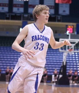 Reserve Jake Cawlina (9 points) saved the day for the Falcons