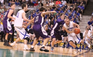 Nick McKenna goes baseline