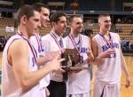 Eric Martin, Danny Connors, Coach John Walsh, Nick McKenna, Nick Bates