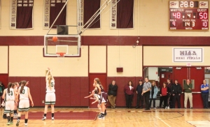 Joslyn King gets Billerica within one point