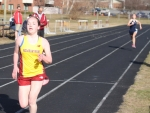 Erin Carroll wins the two mile
