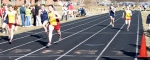Liza Twomey took the 100 and the 200