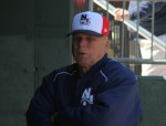 Fisher Cats coach Richie Hebner