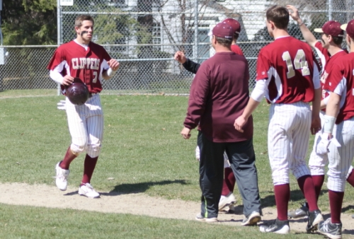 Colton Fontaine had three hits and scored three runs against Saugus