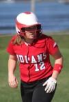 Cassie Schultz had three hits and three RBI