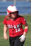 Cassie Schultz had three hits and three RBI