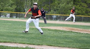 Sean Whooley tracks down a bunt attempt