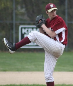 James Nutter tossed a six-hitter in his first start of the season.