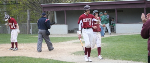 Connor MacRae and Colby Morris both scored on Ryan Shorts single in the second inning.