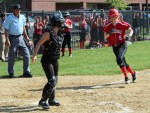 Rachel McKay had two hits and scored a run
