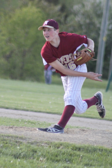 Scott Webster struck out four and earned a save against Triton