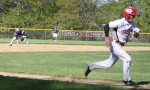Tommy Connors races home with an unearned run