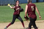 Kendra Dow sets to throw