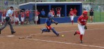 Jessica Silva goes after a bunt