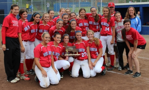 Burlington - Division 2 North softball champions