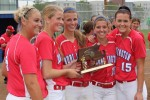 seniors with trophy