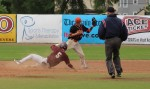 Nate Frongillo steals second