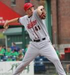 Richmond starter (and winning pitcher) Craig Westcott