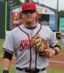 Mark Minicozzi - leading hitter in the EL