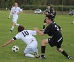 Brendan Civale fouls Connor Reagan