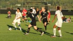 Sam Park (#7) looks for an opening