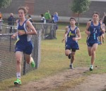 leaders in the boys cross country meet