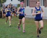 girls cross country leaders