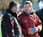 Bangor coach Joe Johnson
