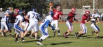 Bethel QB Joe Piatnik (2) sets to throw