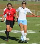 Hadles Yescott (8) and Shannon Valente (1)