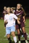 Cassie Symonds (13) and Katherine Gillespie (16)