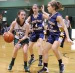 Kelsi McNamara gets double-teamed