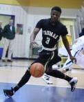 Tramere Adams chases down an LC turnover