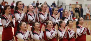 Amesbury cheerleaders