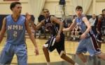 Jonah Bolden (5) looks for a pass